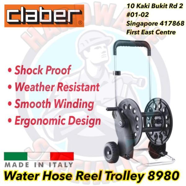 Claber 8980 Ecosei Water Hose Reel Trolley