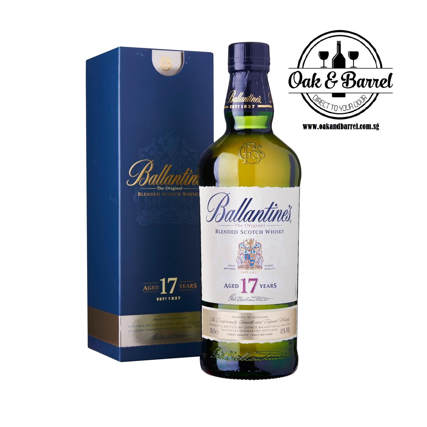 Compare Ballantine S 17 Year Old Whisky
