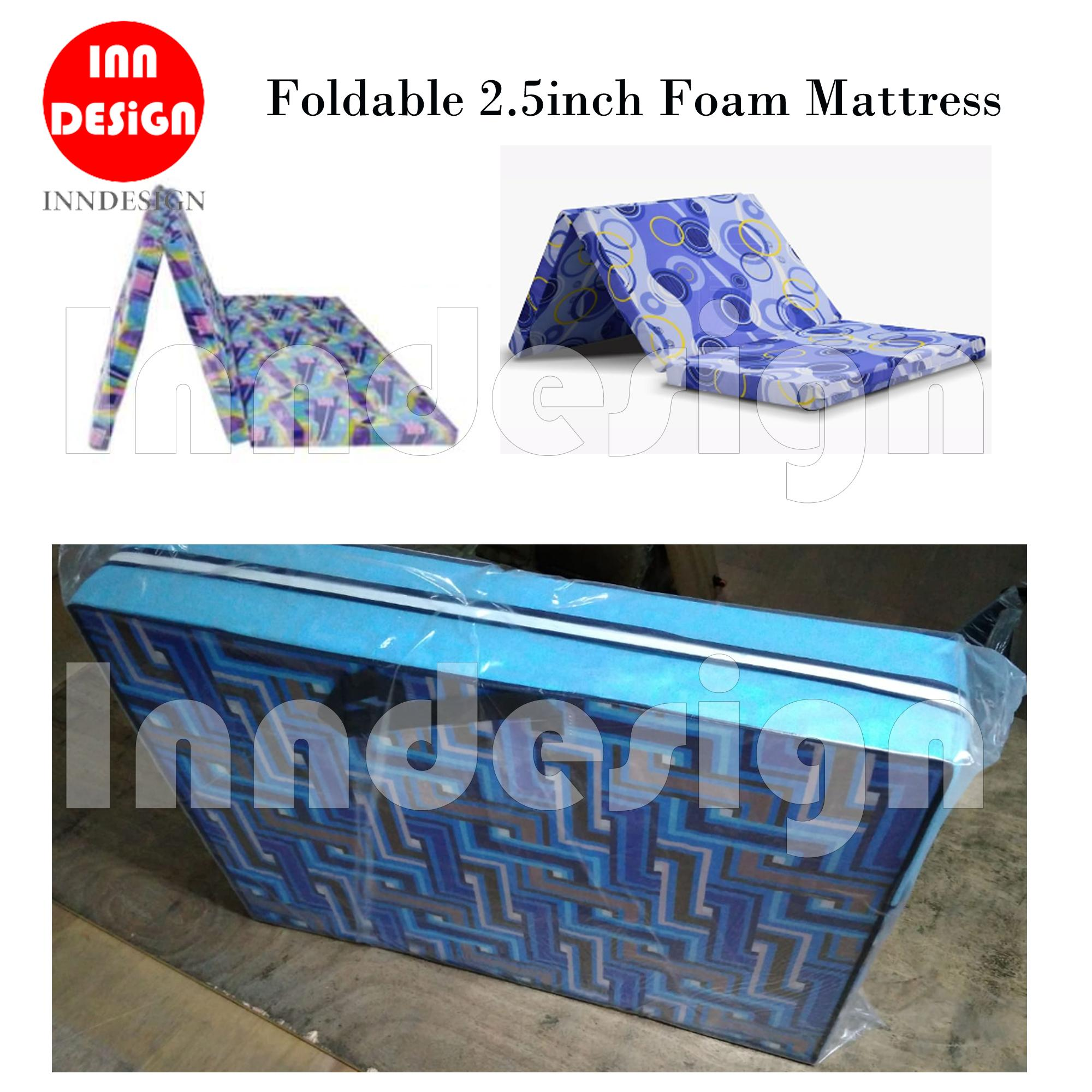 Foldable Foam Mattress (2.5inch)