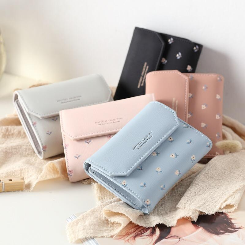 ★ Local Seller Fast Delivery ★ Korea Wallet Soft Pu Leather Women Short Wallets Multi Card Holder Purse Pouch By Sensation Biz.