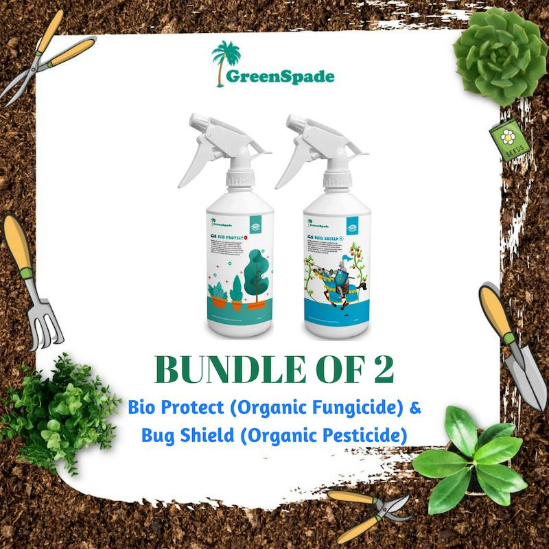 [BUNDLE] Green Spade Bio Protect & Bug Shield