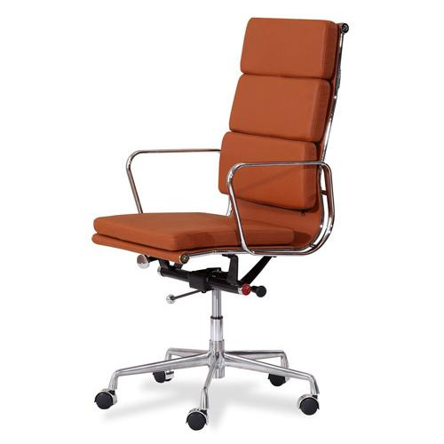 JIJI (Free Installation) (Manager Chair Ver 2. - Leather ) (Home Office Chair) Office chair/Study chair/Gaming chair/Ergonomic/ Free 12 Months Warranty (SG)