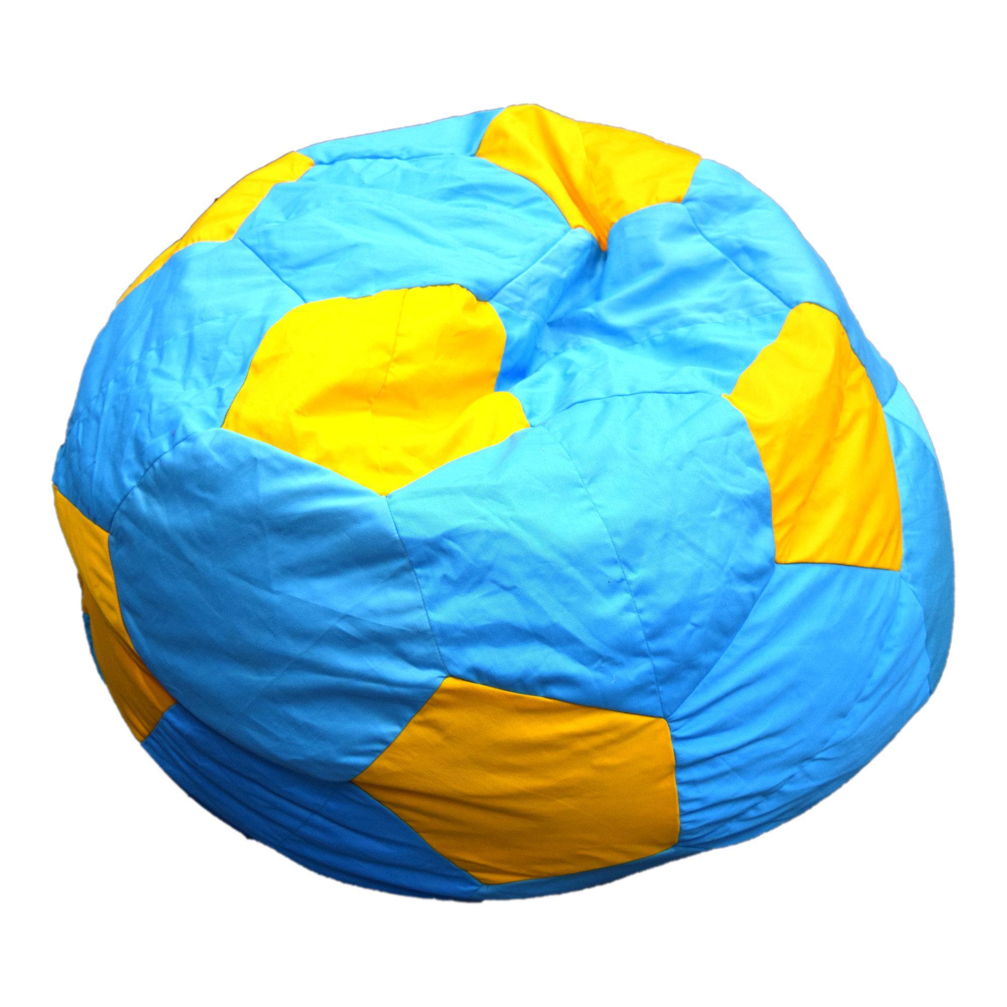 Football Rester Aqua/Yellow