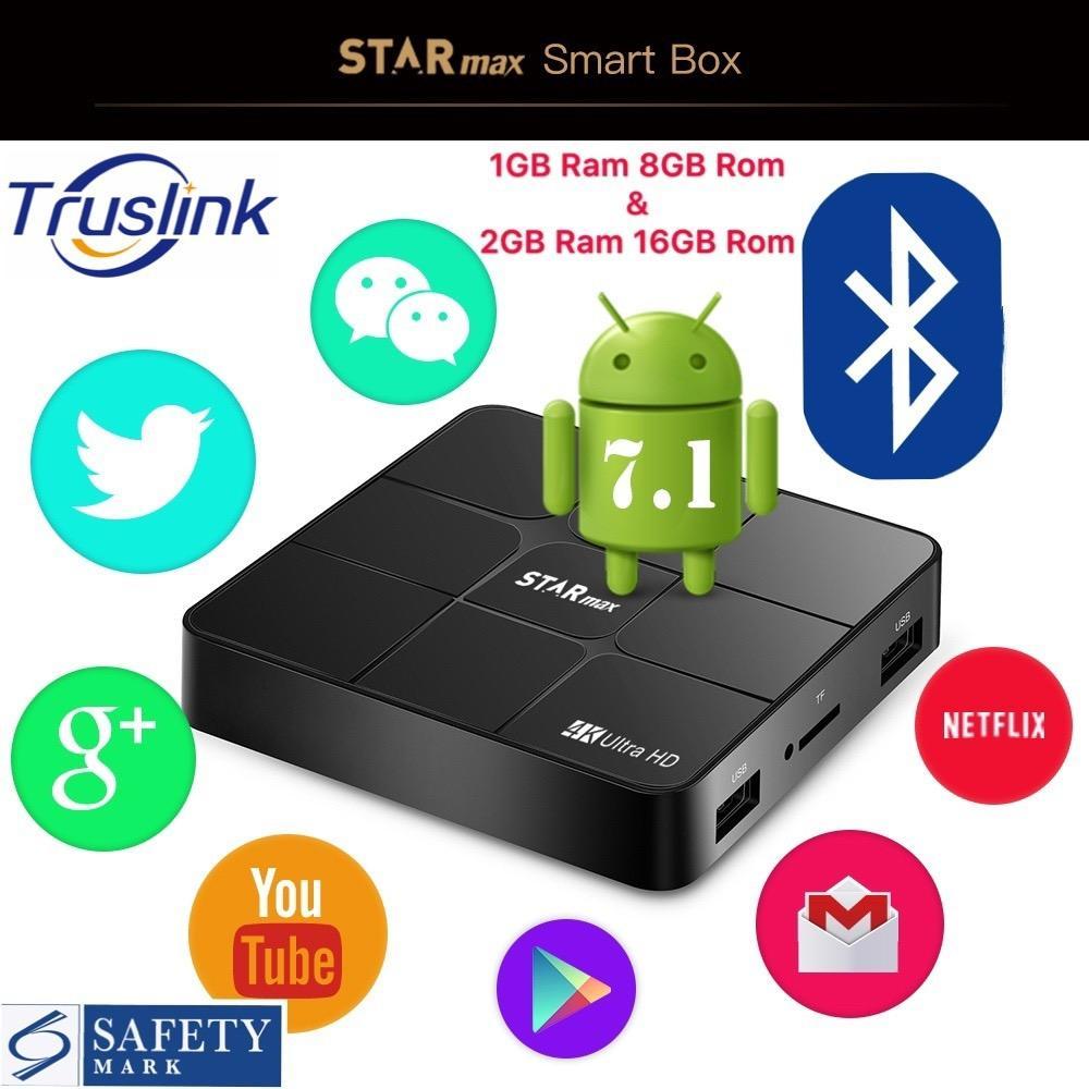 Buy High Quality Media Players Online Android 71 Tv Box H96 Pro Plus Ram 3gb Rom 32gb Kodi Loaded Sg Seller Preloaded Starmax Smart Amlogic S905w 1gb 2gb