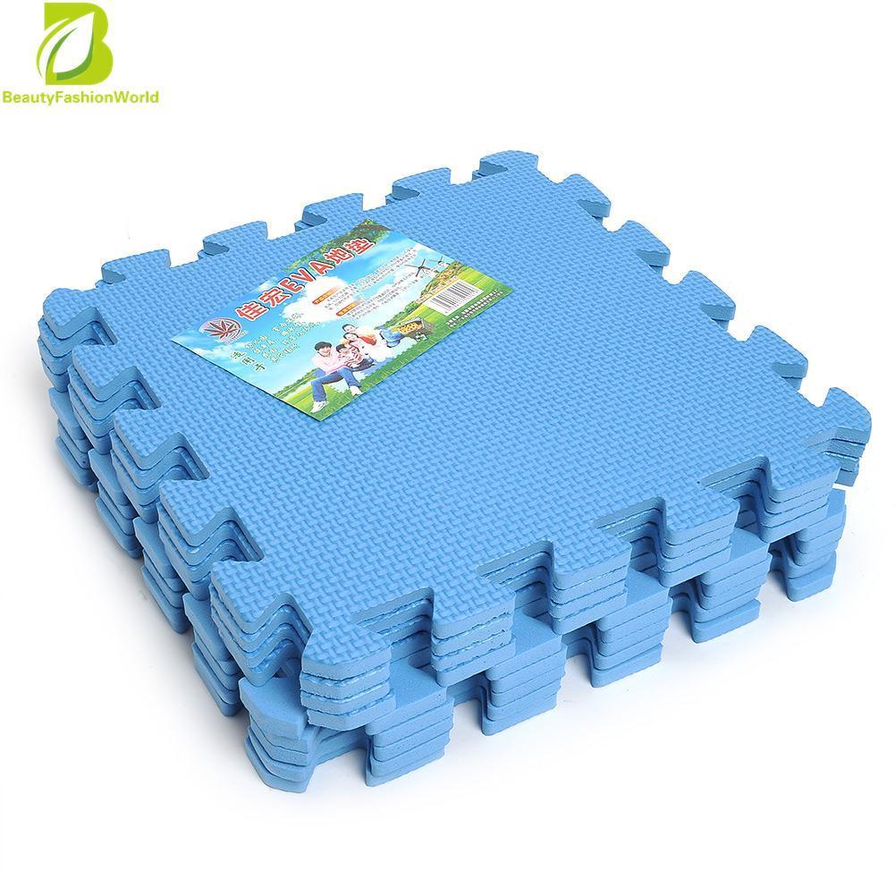 ⭐ pcs interlocking waterproof eva soft foam exercise floor mat