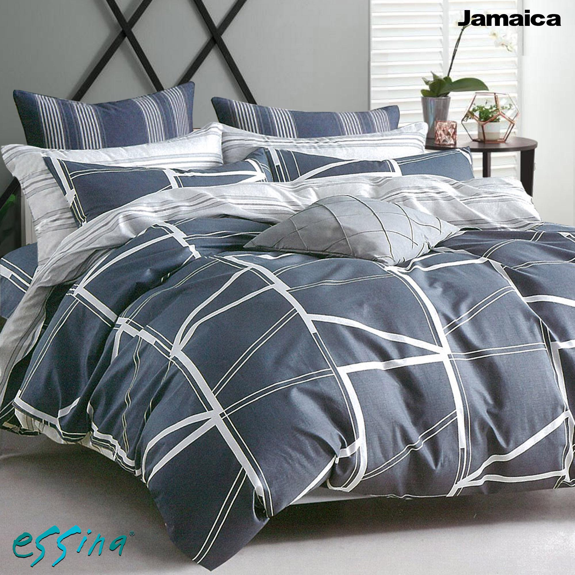 Discounted Essina Jamaica 100 Cotton Fitted Bedsheet Set