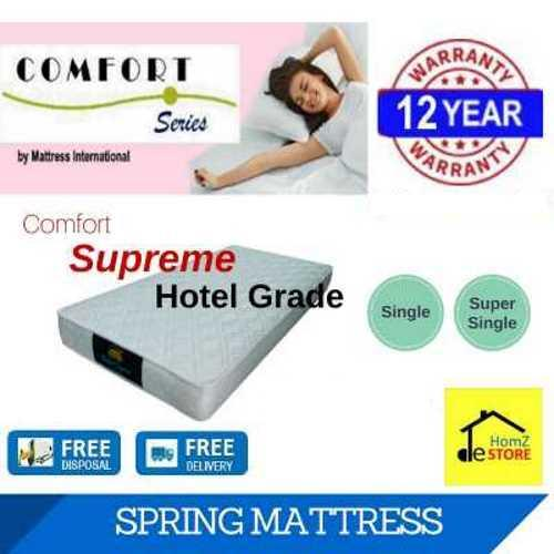 Discounted Comfort Supreme 6In Spring Mattress Single