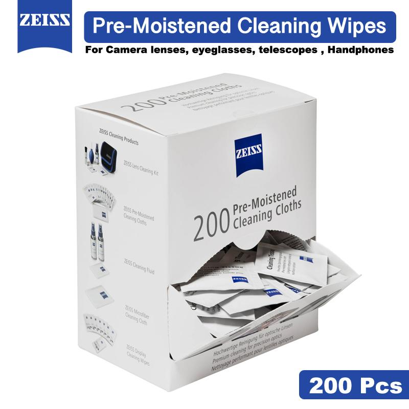 1bdfd7fc4896 Zeiss Lens Cleaning Wipes Pre Moistened Moist Cloth Tissue - 200 in a Box