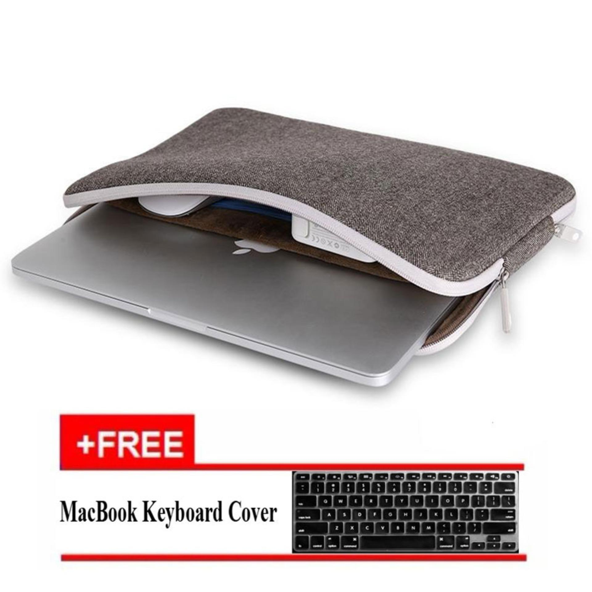 Where To Shop For Wiwu Felt Laptop Sleeve For Macbook Air 13 Pro 13 Grey Export Intl