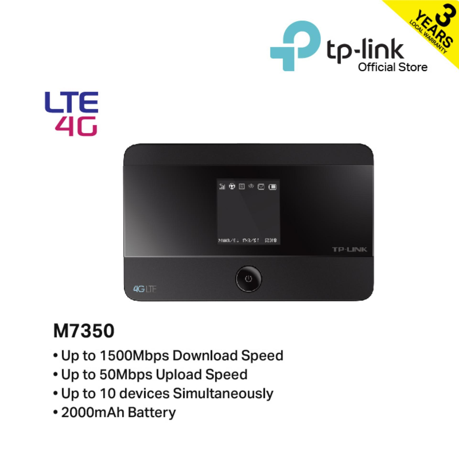 Tp-Link - M7350 Lte-Advanced Mobile Wi-Fi By Tp-Link Official Store.