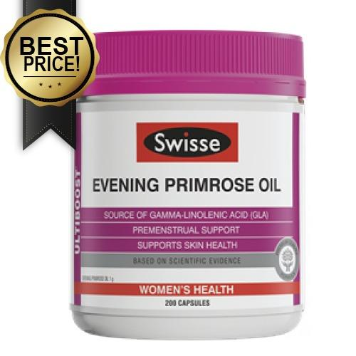 Price Comparisons Swisse Evening Primrose Oil 200 Capsules Expiry Date 08 2019