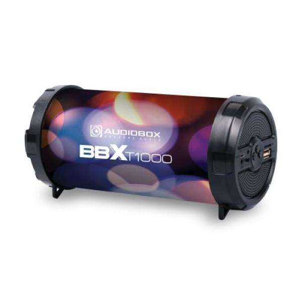 Audiobox BBXT1000 Speaker Portable Rechargeable. Bluetooth, FM Radio, Memory Card Slot, USB Input, Line In Port. Super Loud. 1 Year Warranty. Singapore
