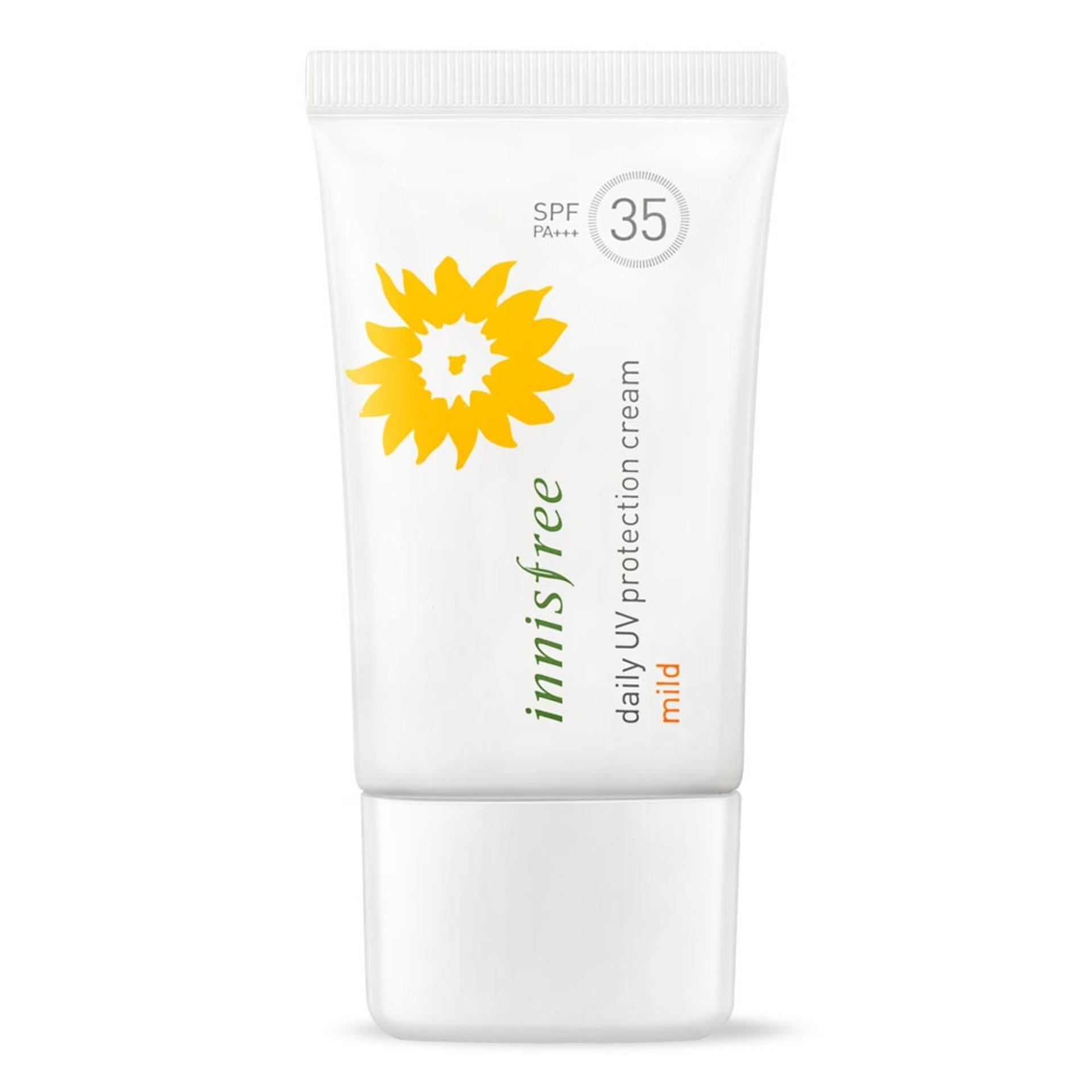 Get The Best Price For Innisfree Daily Uv Protection Cream Mild Spf35 Pa 50Ml