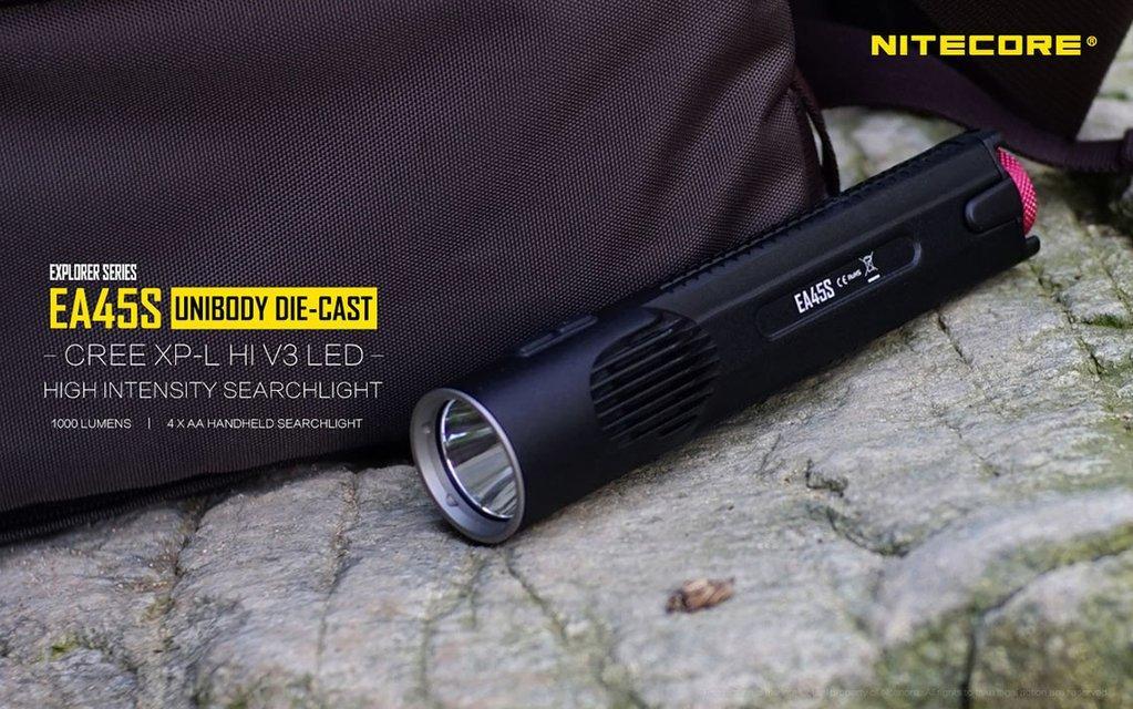 Nitecore EA45S Torchlight 1000 Lumens