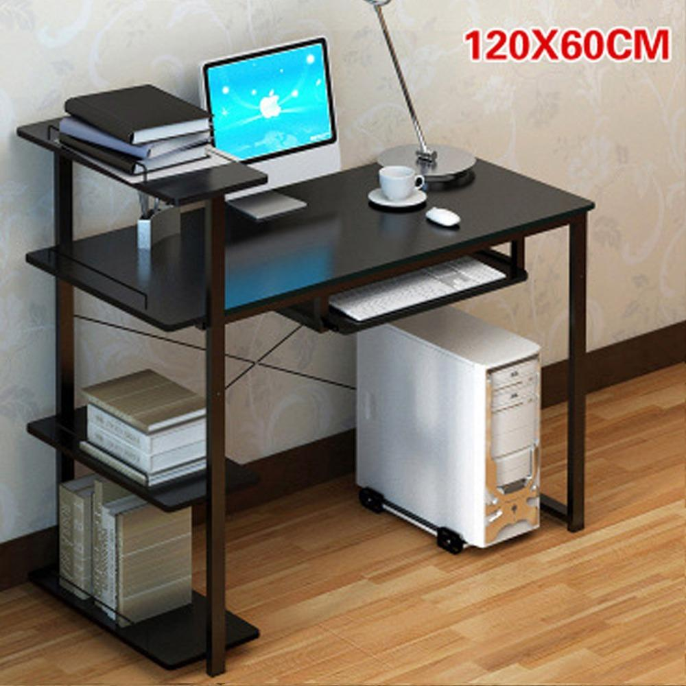 Bestille Computer Table With Bookshelves ( FREE INSTALLATION PROVIDED ) (Computer Table)