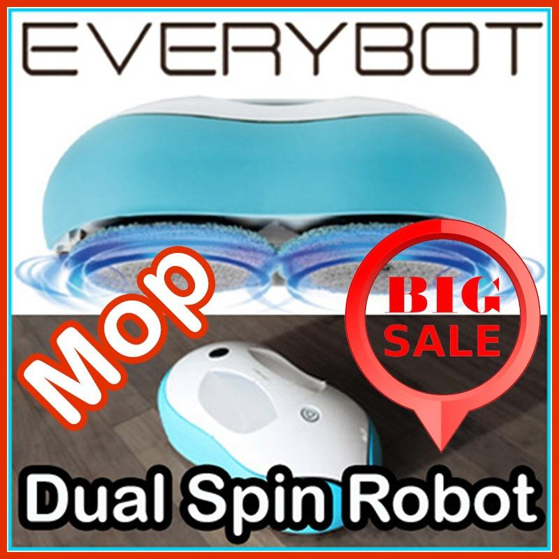 Everybot Korea Rs500 Dual Spin Mopping Wet Dry Robotic Cleaner Compare Prices