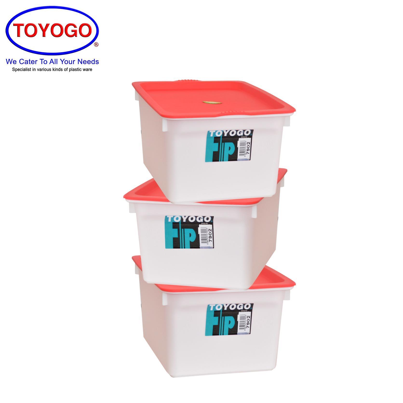 Toyogo Fancy Container (Bundle of 3) (7902)