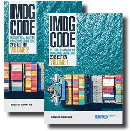 IMO IMDG Code 2018 Edition Amendment 39-18 - Volume 1 & 2 - IMO books