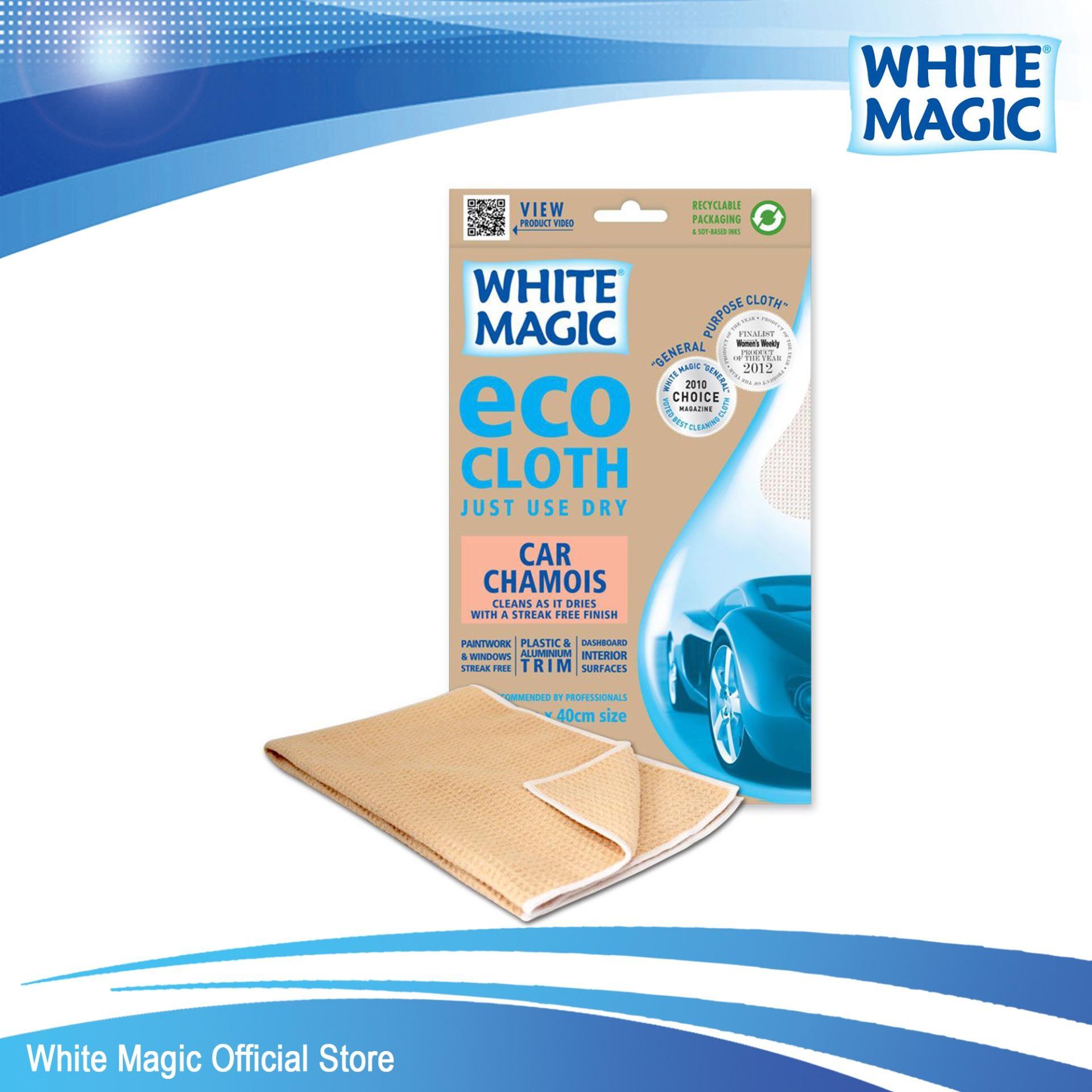 White Magic Microfibre Car Chamois Eco Cloth