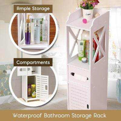 Waterproof Bathroom Storage Shelf / Rack / Can Use In Bedroom Too By Gladleigh.