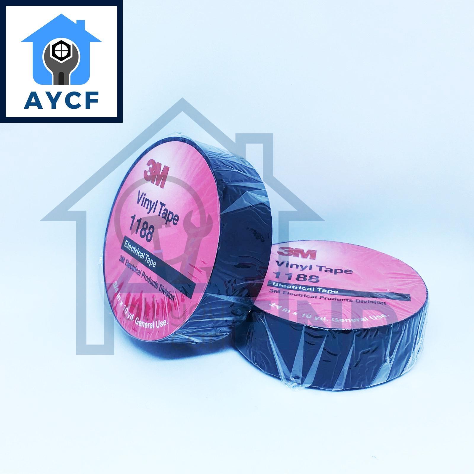 3M Insulation / Electrical Tape ( 3/4 Inch x 10 Yard ) - Black