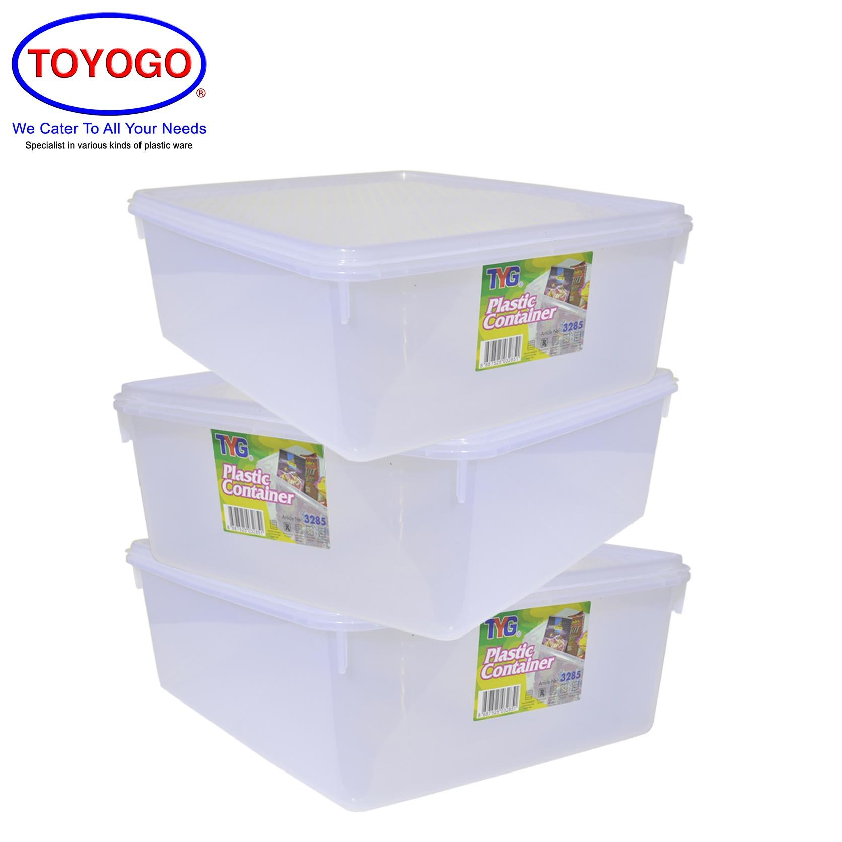 Toyogo 6L Diamond Container (Bundle of 3) (3285)