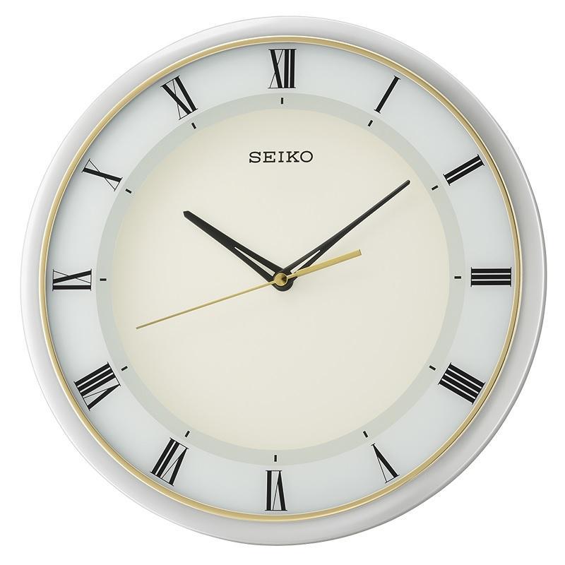 Seiko Qxa683Sn Analog Wall Clock Best Buy