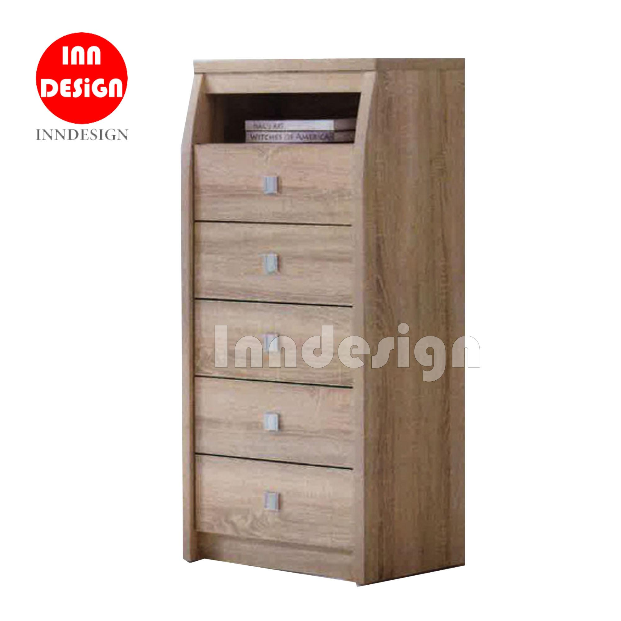 Raina 1+5 Chest of Drawer