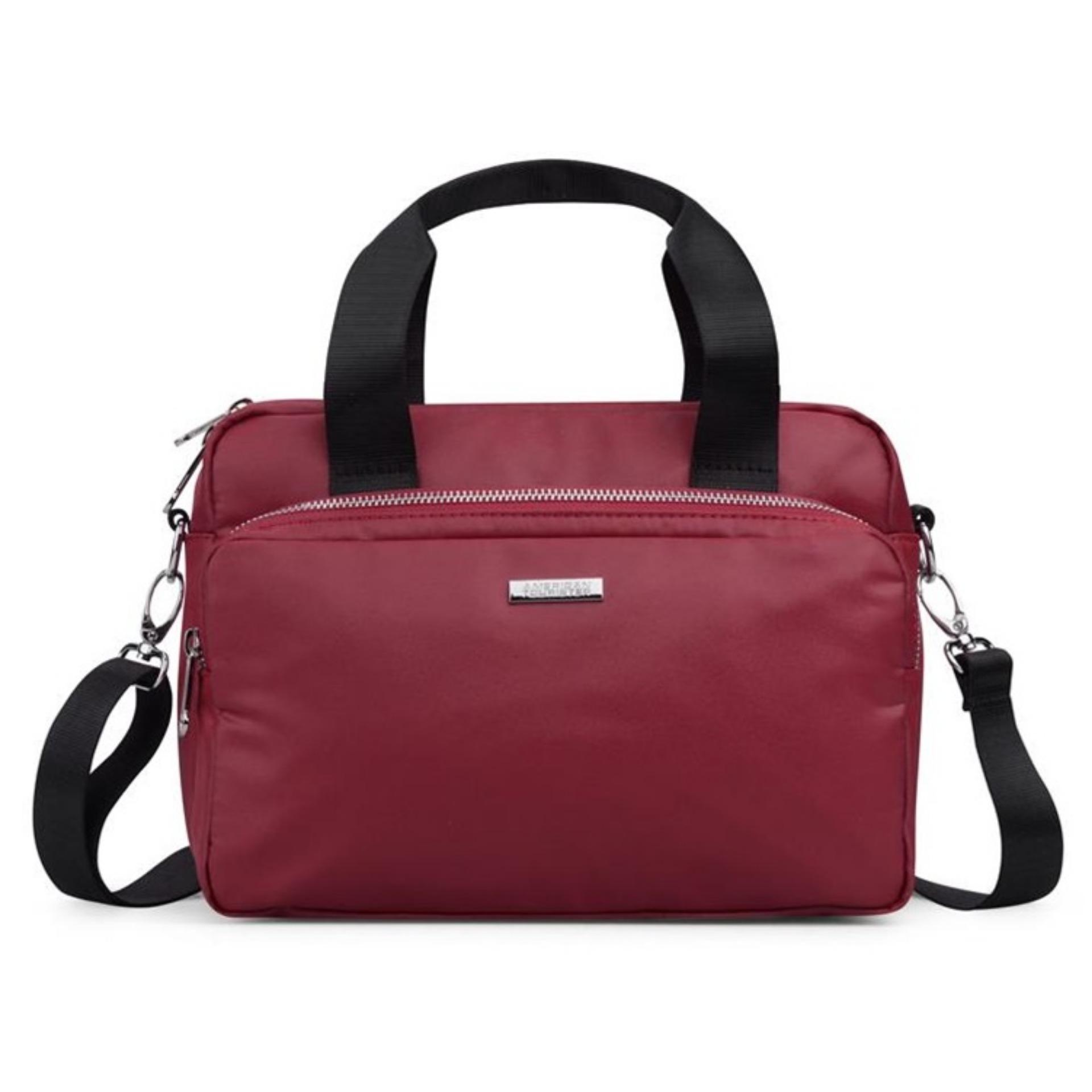 Compare American Tourister Halo Shoulder Bag M Burgundy Prices