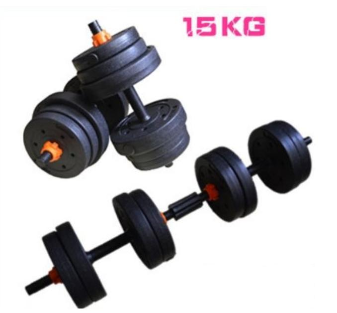 2c5adbf7713 JIJI Black Versatile Dumbbell Set 10kg   15kg   20kg   25kg   30KG -  Dumbbells