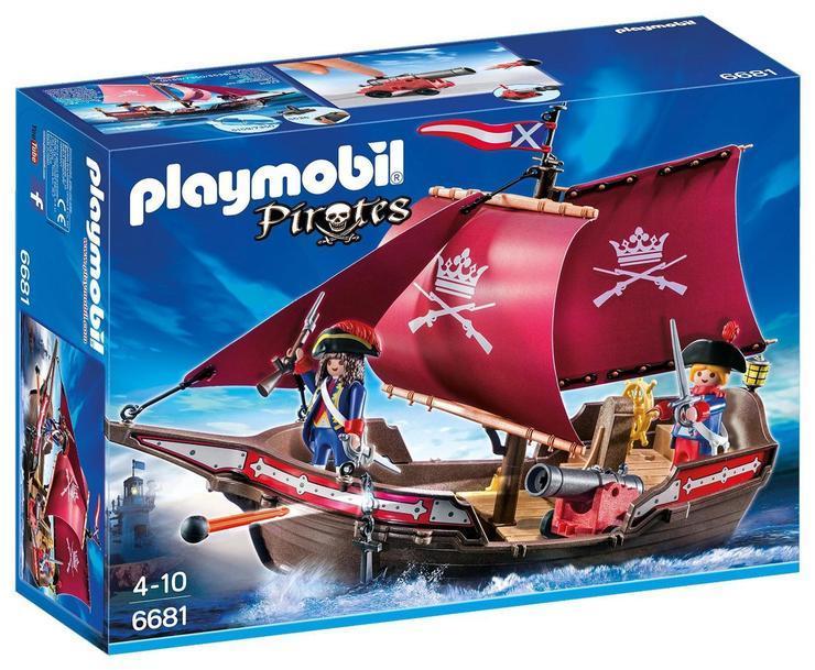 PLAYMOBIL 6681 - Soldiers Patrol boat