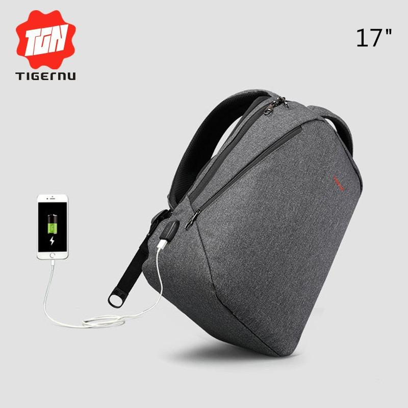 Review Tigernu 17 Anti Theft Laptop Backpack With Usb Charging Port Fits Up To 15 6 Inch Computer Tigernu