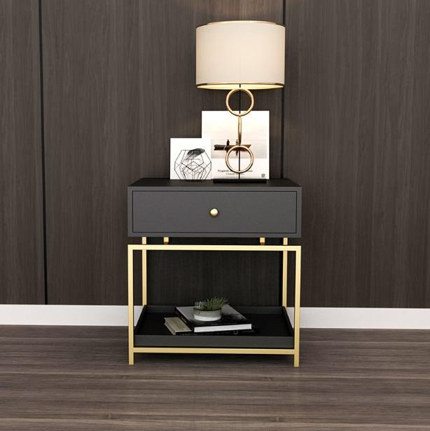 Modern Elegant Bedside Table