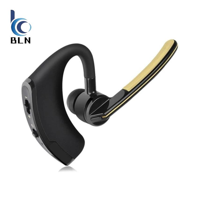 Sale 【Bln Tech】Bluetooth Headphone V8 Business Bluetooth Headset Earphone With Mic Voice Control Wireless Headphone