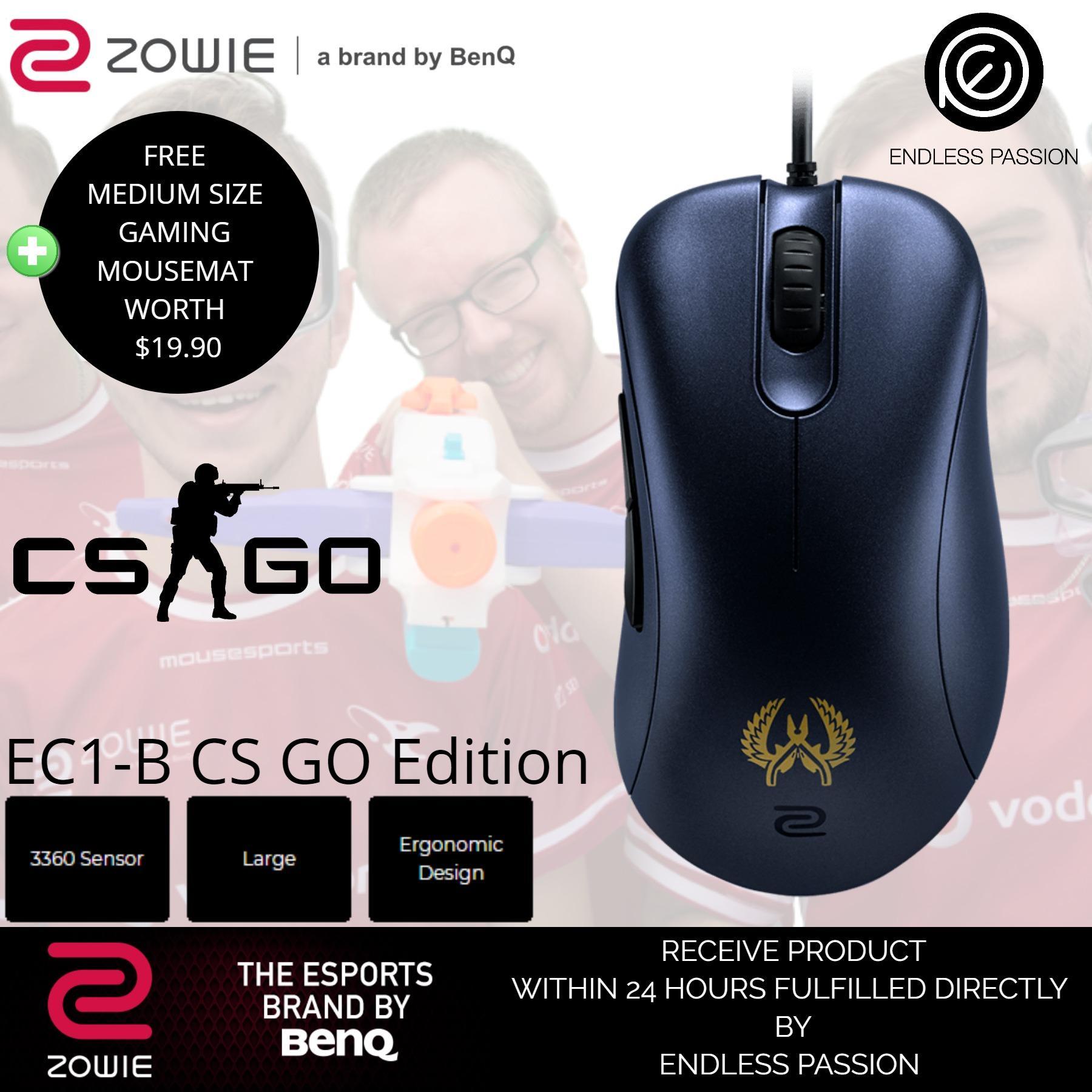 Where To Shop For Benq Zowie Ec1 B Cs Go Version 3360 Sensor Esports Gaming Mouse