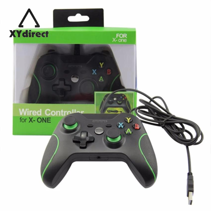 New Usb Wired Console Game Handle Controller Remote Joystick Gamepad For Xbox One Pc Windows Gifts For Sale Online