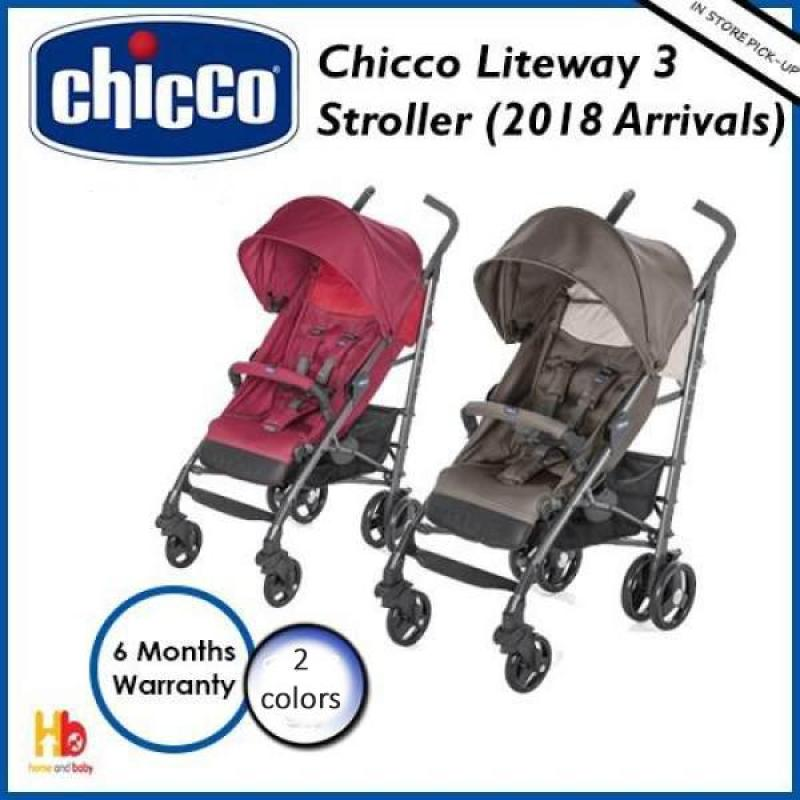 Chicco Liteway 3 Stroller - 2018 Arrivals Singapore
