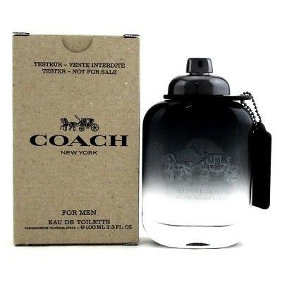 a061be0e5e1b Coach New York EDT for Men (100ml Tester) Eau de Toilette Spray Black [