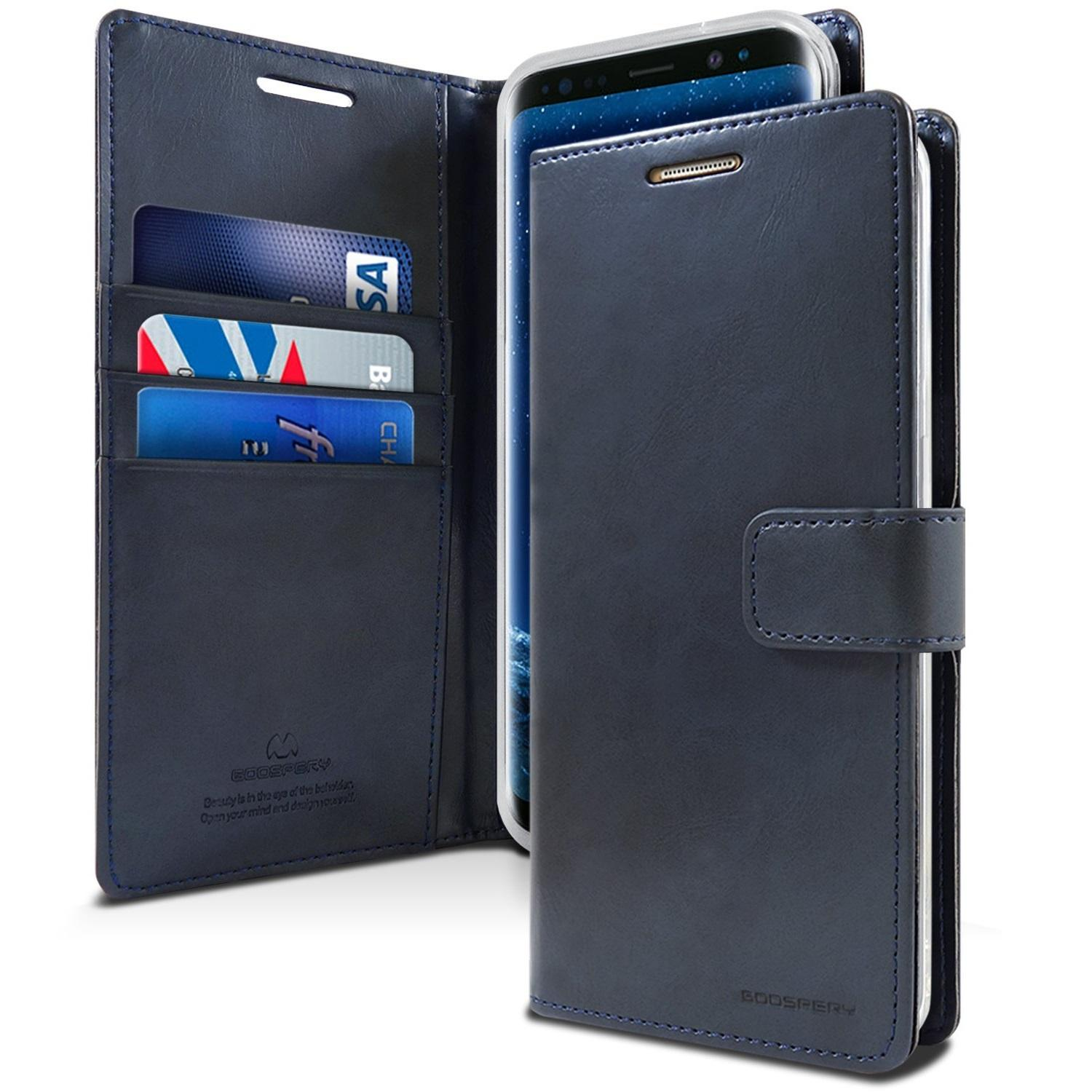 Price Comparisons For Goospery Samsung S9 Blue Moon Diary Case With Card Slot