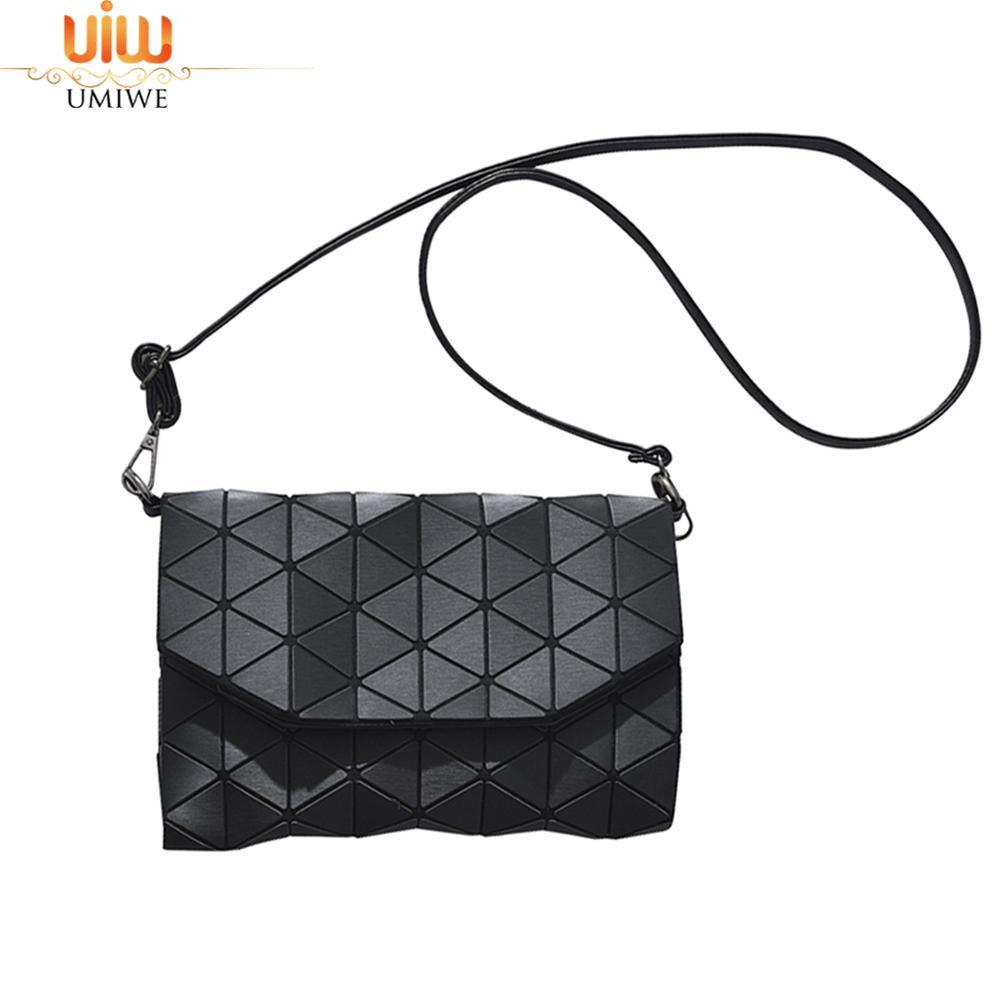 Umiwe Women Fashion PU Leather Crossbody Satchel Shoulder Bag Quilted Messenger Bag - intl