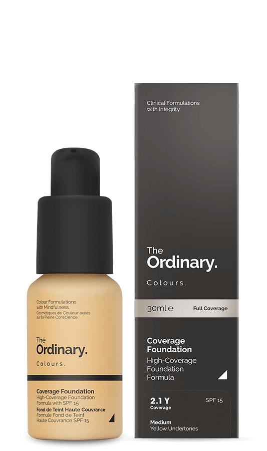 2.1y Coverage Foundation The Ordinary By Frontier Beauty.