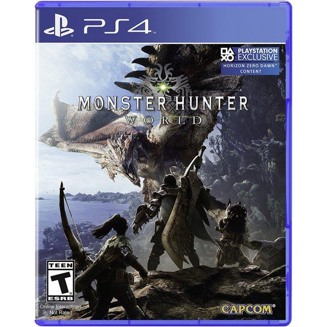 Discount Ps4 Monster Hunter World Standard Edition Us R1 Ps4
