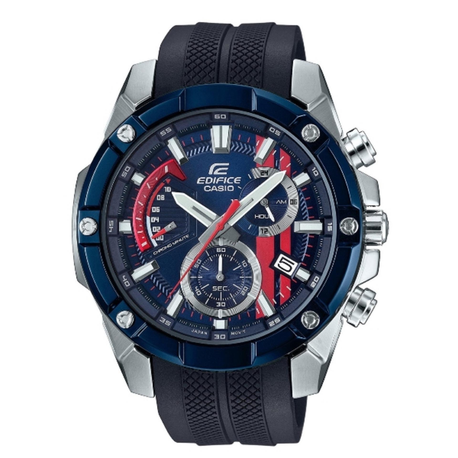 Casio Edifice EFR-559TRP-2AJR SCUDERIA TORO ROSSO Blue Bezel Watch EFR-559TRP-2A