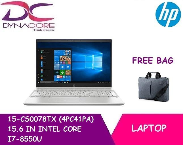 HP 15-CS0078TX (4PC41PA) 15.6 IN INTEL CORE I7-8550U 8GB 1TB HDD 128GB SSD WIN 10