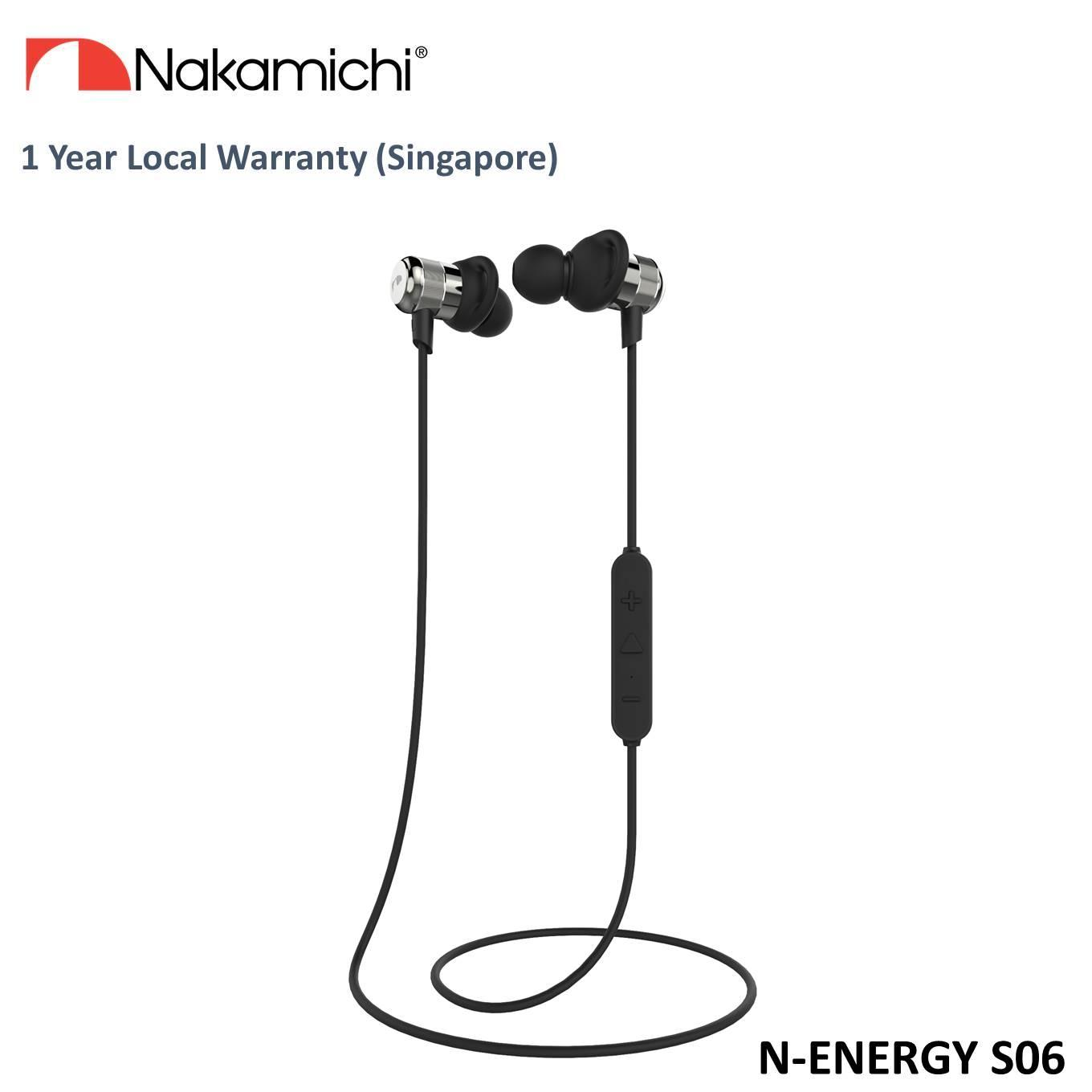 Price Comparisons Nakamichi N Energy Plus Sport S06 Bluetooth Earphone Grey