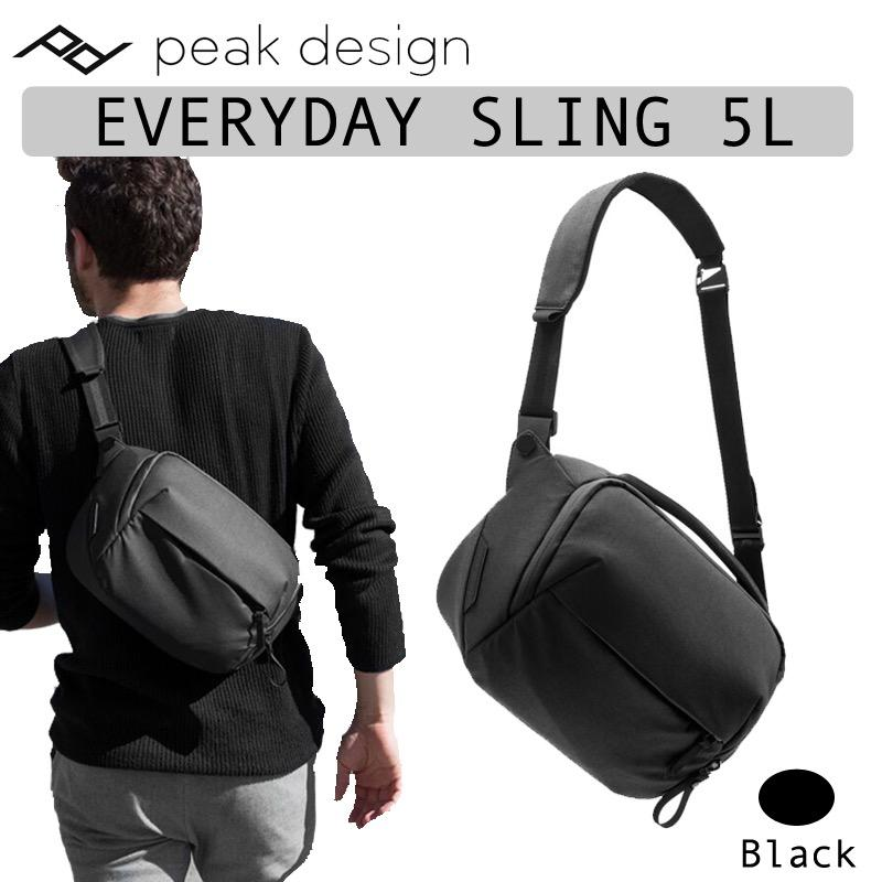 Coupon Peak Design Everyday Sling 5L Black Camera Drone Bag Bsl 5 Bk 1