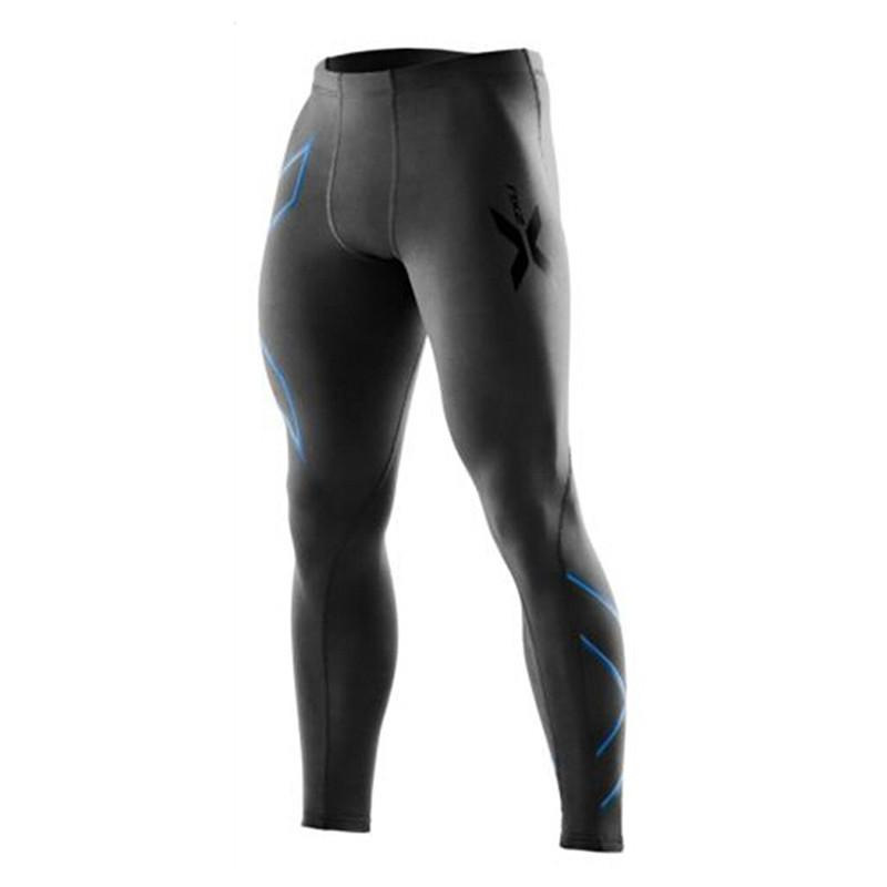 Best Rated Men Compression Pants Tights Bodybuilding Trousers Running Fitness Sport Quick Dry Tights Gym
