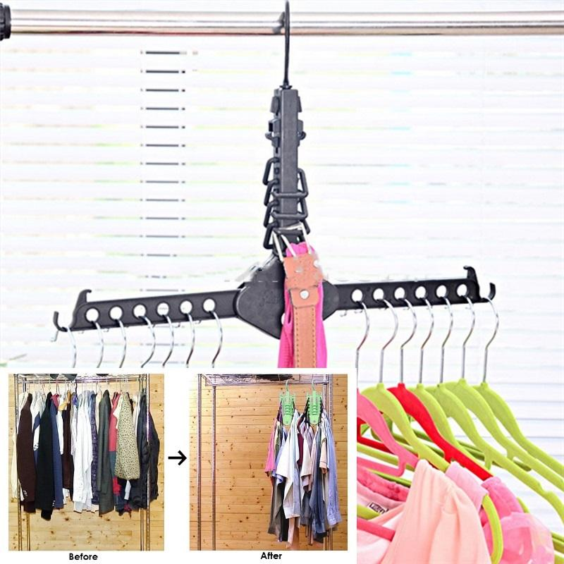 Magic Clothes Hanger By Shoponlinelah By Sol Home.