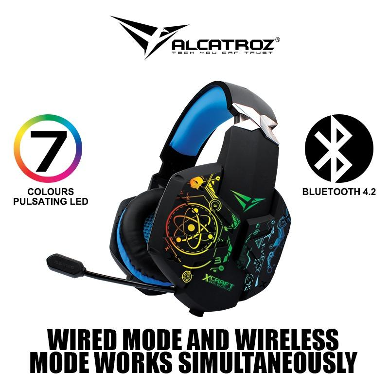 X-Craft HP Gold 7000 Wireless Professional Quality Gaming Headset