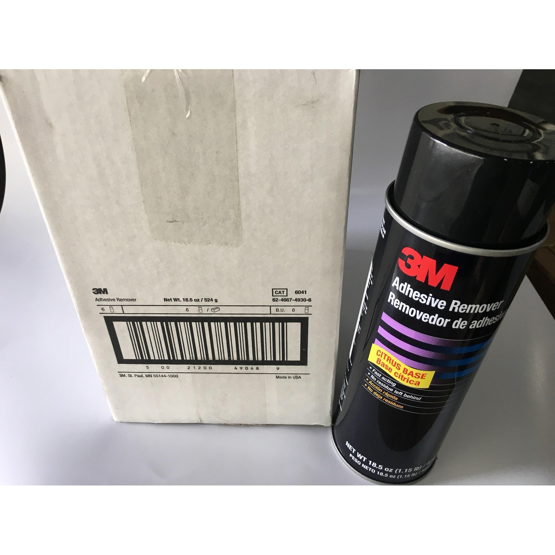 3m Adhesive Remover - 24 Fl Oz (6can/case) 6041 By Masstec.